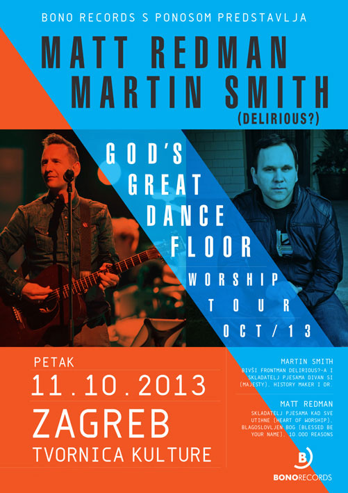 Matt Redman and Martin Smith